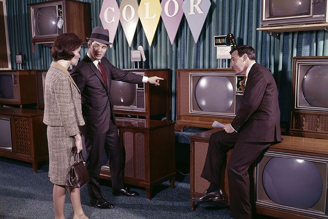 COLOR TELEVISION IN 1966