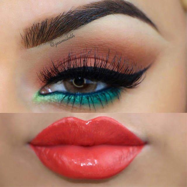 Beauty Angel's: Maquillaje Colorido Para Primavera/Verano by @jeamilethdoll