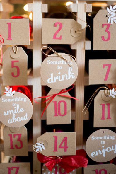 DIY Wine Advent Calendar - via JustDestinyMag.com with Cost Plus World Market #JoytotheWorldMarket