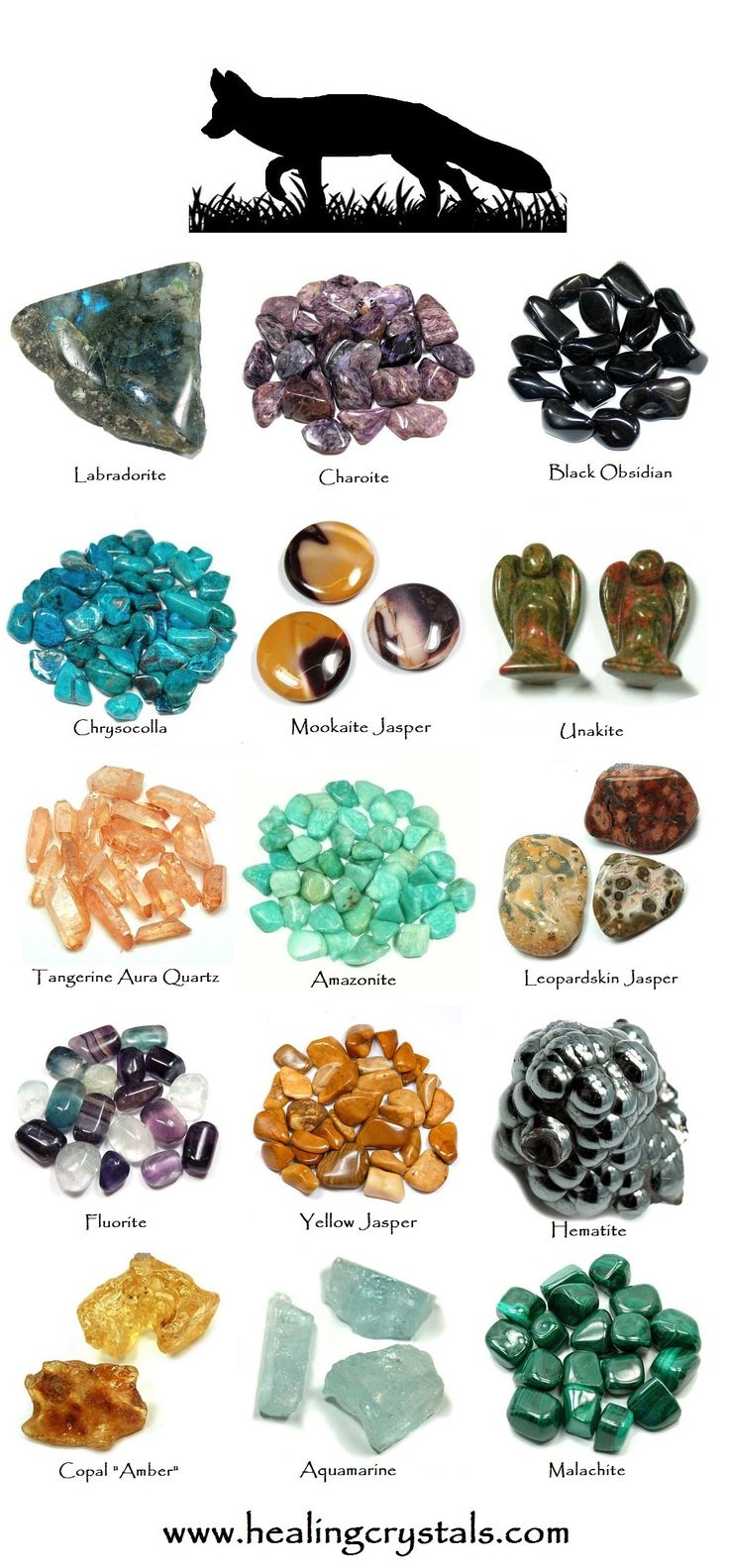 Fox Animal Totem - Crystal Reference Library - Information About Crystals As A Healing Tool