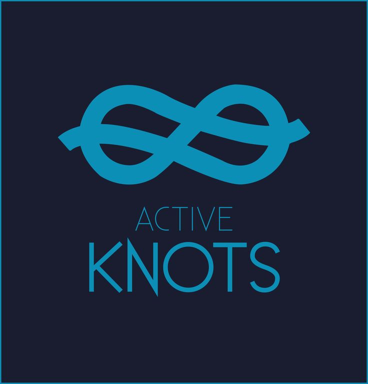 Project by Klaudia Jadwiszczyk It is a company logo, which deals animated instruction of tying knots