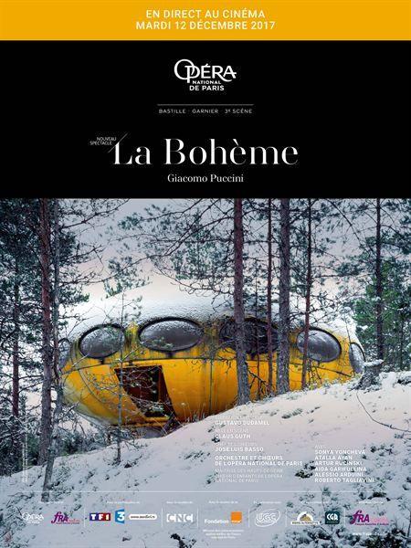 LA BOHEME en direct de l'Opéra de Bastille Mardi 12 Décembre à 19h30 Infos et horaires sur www.majestic-cinemas.com