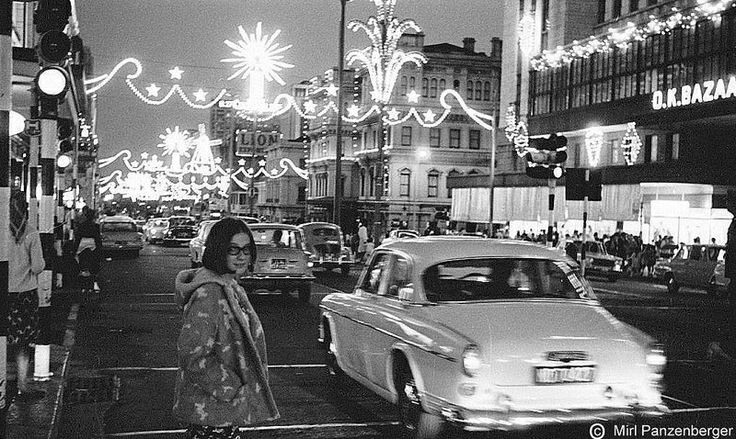 Christmas Lights in Cape Town 60's