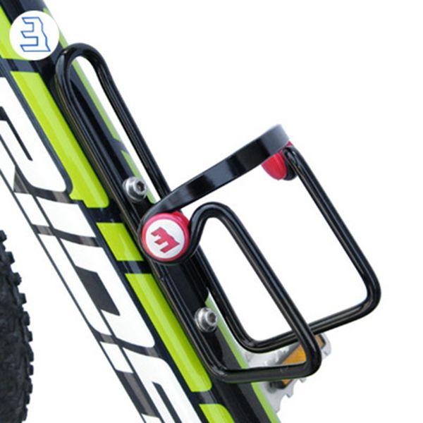 Bicicleta de la bici de aluminio en general soldada titular de la botella de agua jaula