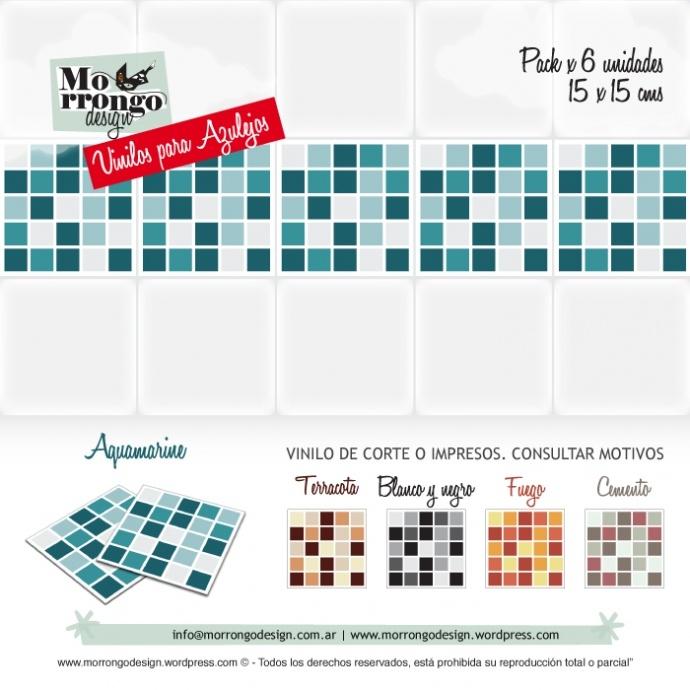 Vinilos para azulejos! Decorá tu baño o tu cocina!    Rápido, fácil y barato!    ® MORRONGO DESIGN 2012. All rights reserved