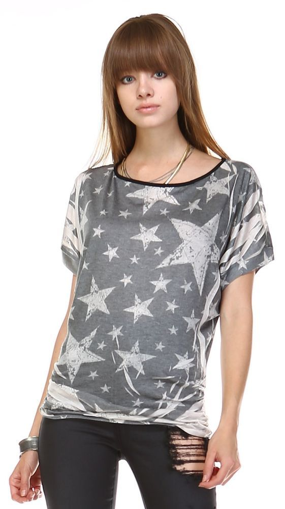 Zoozie LA Women's American Flag Shirt Patriotic Tank Tops Regular And Plus Size #ZoozieLA #womens