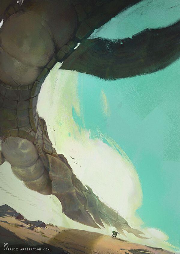 Shadow of the Colossus by kairuiz
