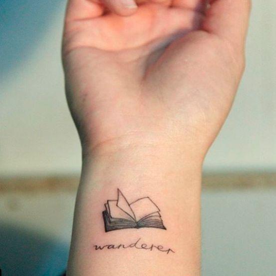20 x beeldige tattoos voor boekenwurmen - Body & Mind... (4)
