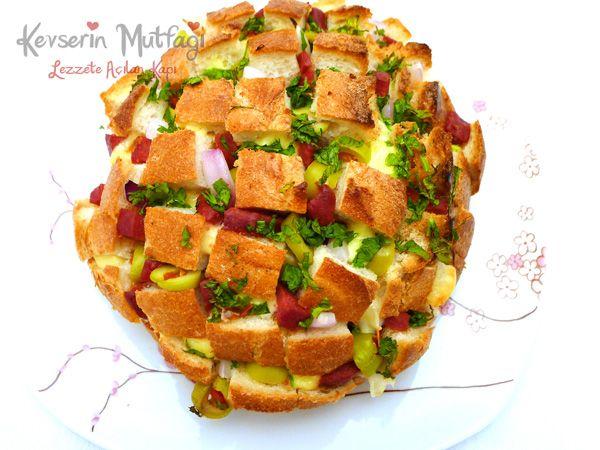 Çek Kopar Ekmek Tarifi - Kevser'in Mutfağı - Yemek Tarifleri