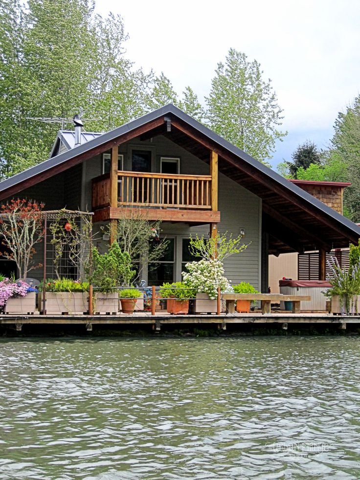 17 best images about boat houses on pinterest house boat Floating homes portland