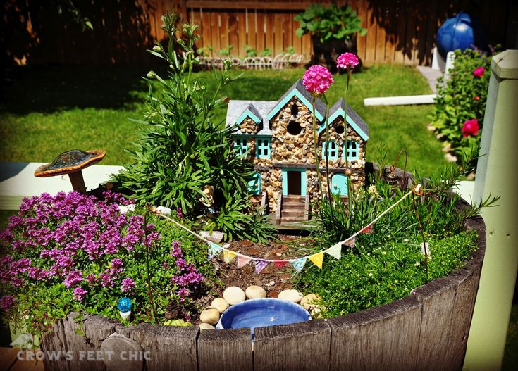 Mini Garden Ideas hit the road jack Ideas Outdoor Chic Miniature Houses And Fairy Garden Ideas Pictures Gallery Chic Fairy Garden