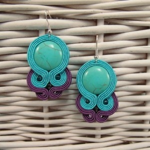 Soutache earrings / kolczyki sutasz