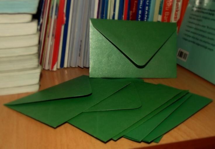 my green envelopes