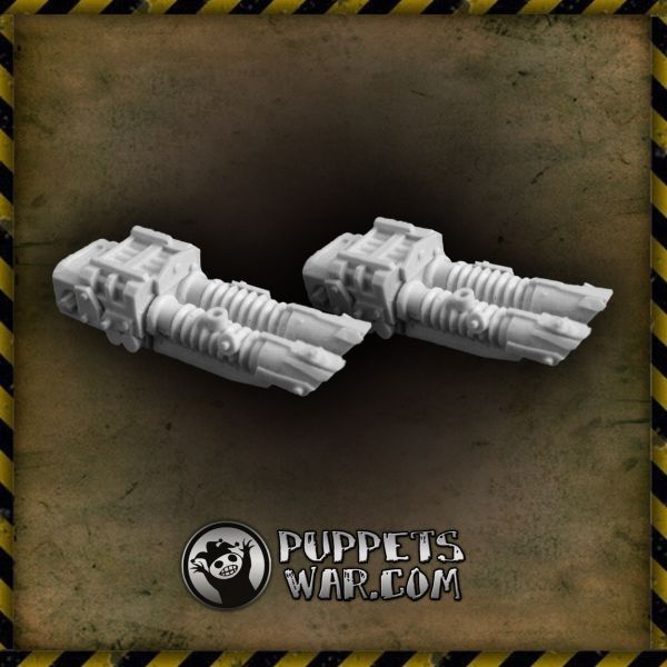 ORC LASER CANNON pair