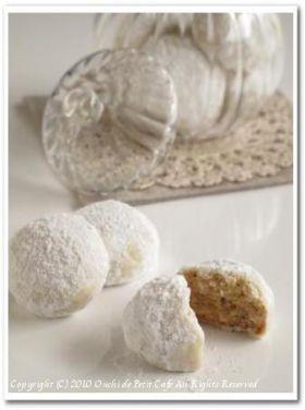 「きな粉のスノーボール」Minami | お菓子・パンのレシピや作り方【corecle*コレクル】