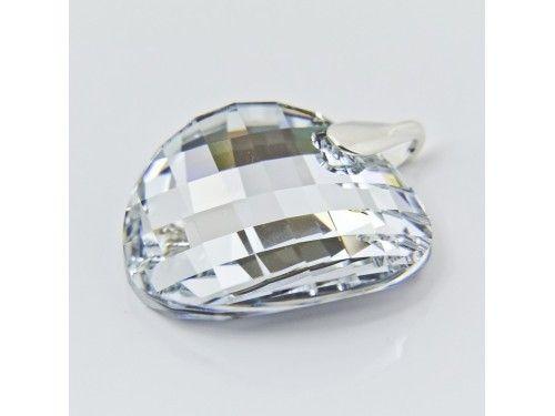 ZAWIESZKA SWAROVSKI TWIST 28MM CRYSTAL CAL SREBRO 925 - W1284 Materiał: Srebro 925 + kryształ Swarovski Elements Kolor: Crystal CAL Rozmiar kamienia: 28.0mm Wysokość całej zawieszki: 35,0mm Waga srebra: 0,6g ( 1szt ) Waga całej zawieszki: 8,64g ( 1szt)