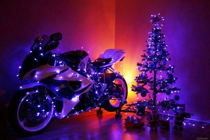 I Want A Motorcycle Christmas Tree Motorcycle Sport