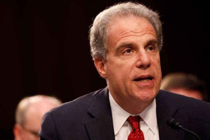 Justice Department Inspector General Michael Horowitz testifies during a Judiciary Committee hearing into alleged Russian meddling in the 2016 election on Capitol Hill in Washington, U.S., July 26, 2017.