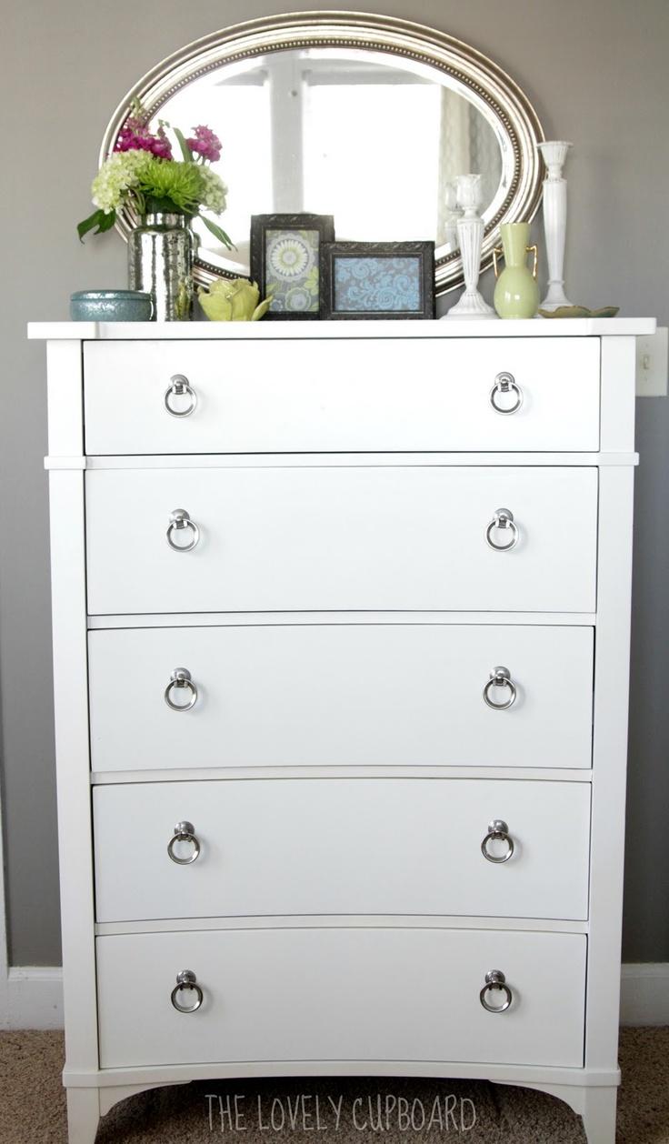 mirror above dresser home sweet home pinterest