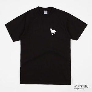 a deftones white pony logo t shirt banda de musica con capucha puente de vinilo cd album de pano