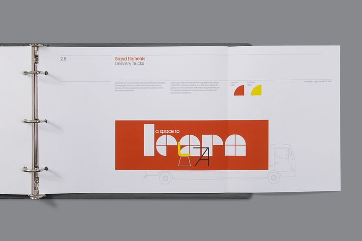 Brand identity and brand guidelines by Mucho for office space planning, design and project management company Inside Source