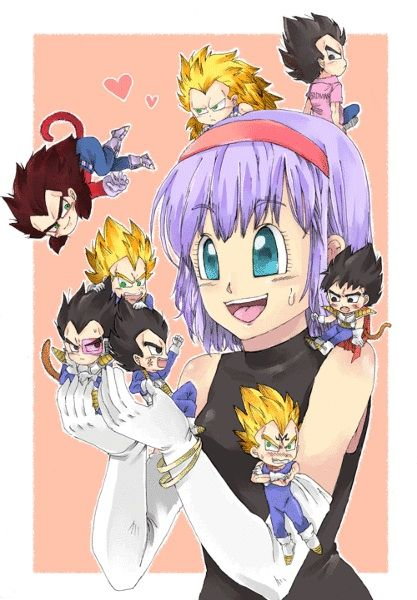 284 best vegeta and bulma images on pinterest dragons dragon ball z and dragonball z - Goku e bulma a letto ...