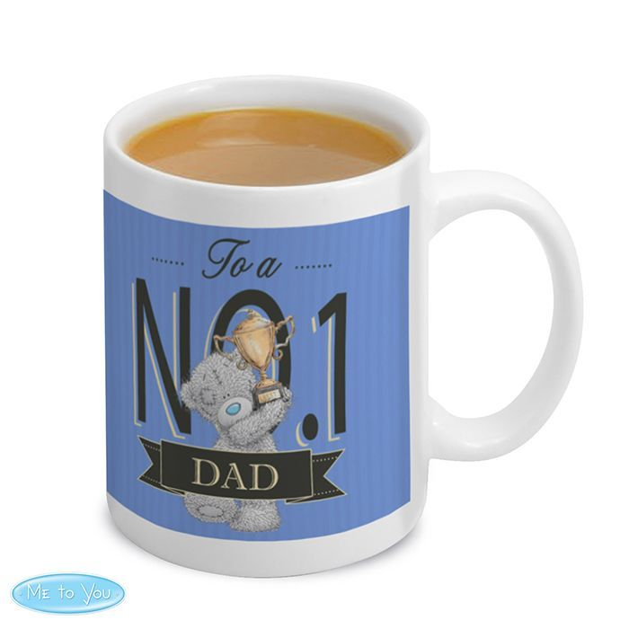 "Personalised Me to You No 1 Mug For Him  - Let him know he is your ""number one"" on any occasion."