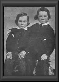Willie and Tad Lincoln