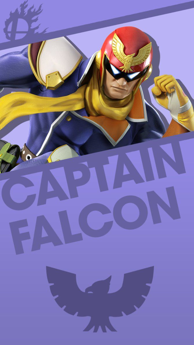 Captain Falcon Smash Bros Phone Wallpaper By Mrthatkidalex24 Smash Bros Nintendo Super Smash Bros Super Smash Bros