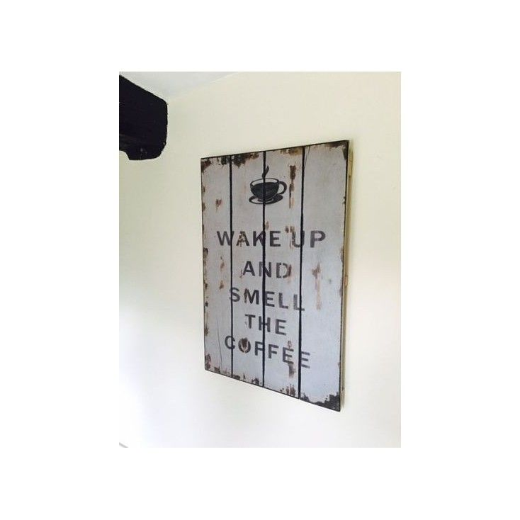 Shop for man cave wooden tin metal signs, retro wall art, wake up and smell the vintage coffee only at Smithers of stamford visit our antique shops stamford