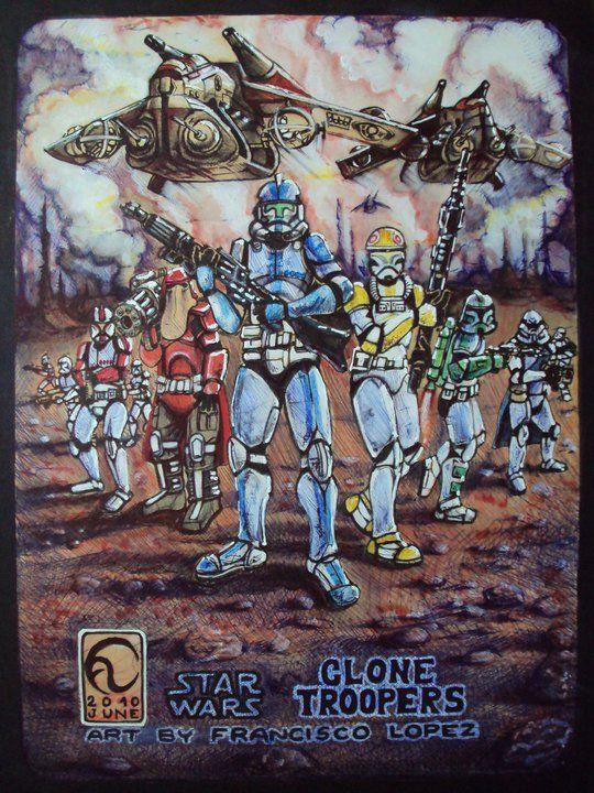Star Wars por Francisco Lopez