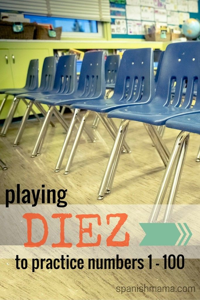 .Mi Vida Loca Episode 8: Un billete de ida. Diez is a fun, interactive whole-class game for practicing numbers 1-100 in Spanish (though it would work in any foreign language classroom).