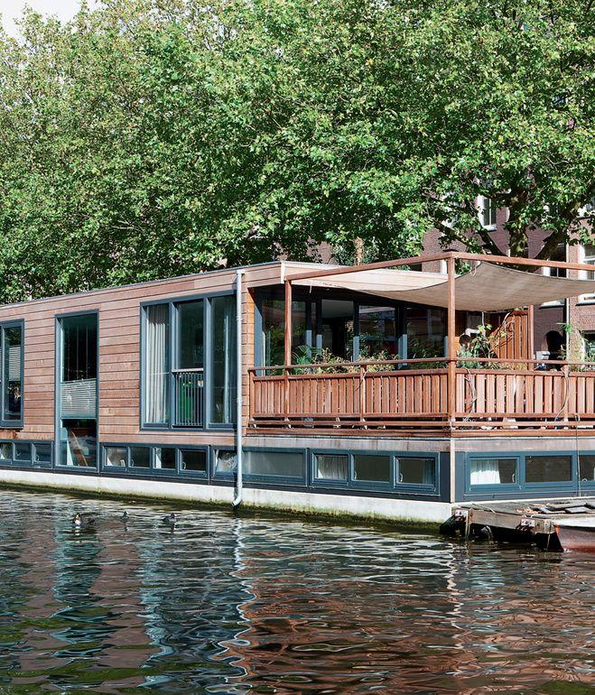 141 besten houseboats bilder auf pinterest hausboote schiffe und hausboot wohnen. Black Bedroom Furniture Sets. Home Design Ideas