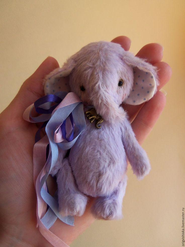 Купить Слоник тедди Даниэль - тедди слон, тедди слоник, слоник тедди, слоник в подарок