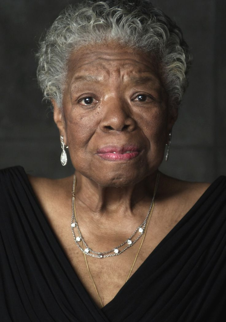"""Dr. Maya Angelou: """"Be a Rainbow in Someone Else's Cloud"""""""