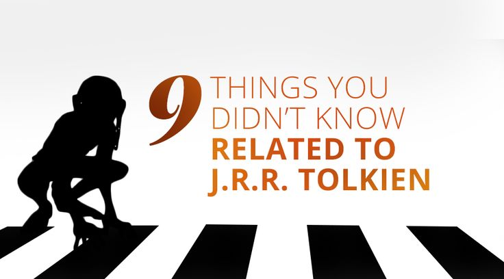 9 things related to #Tolkien you (maybe) didn't know