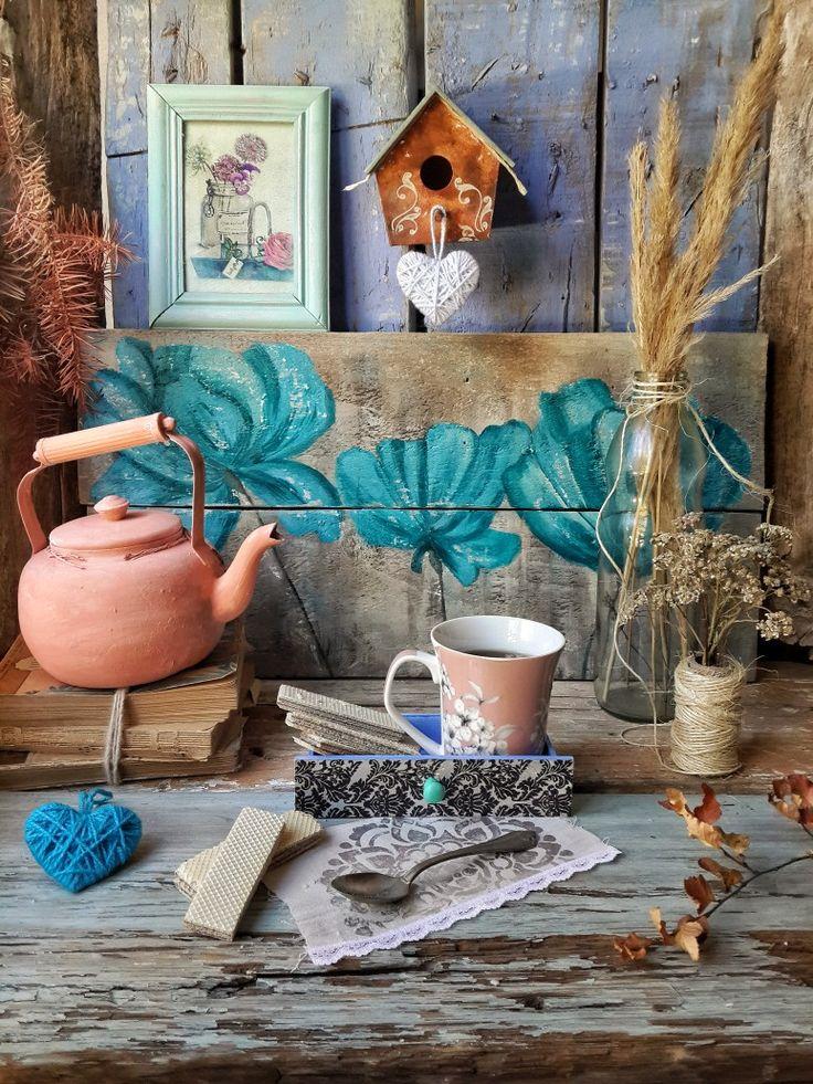 Un rincón especial Planter Pots, Instagram, Painting, Little Cottages, Home, Art, Painting Art, Paintings, Painted Canvas