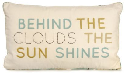 This cushion will always cheer you up! #CityFields #Cushion