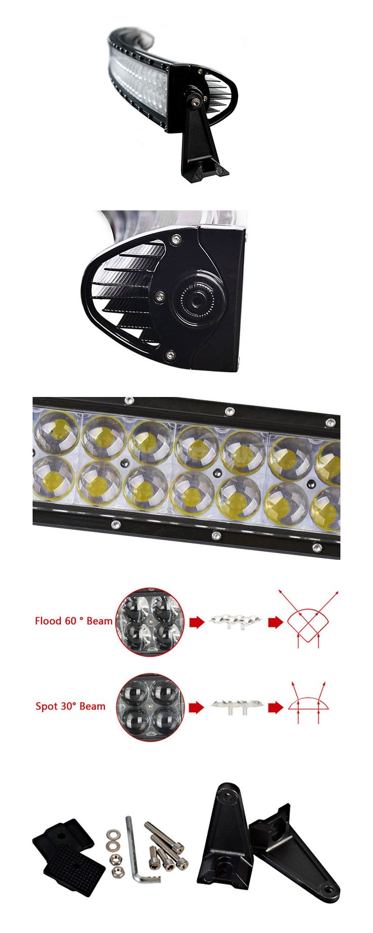 Epic The brief show of LED Light Bars for Sale