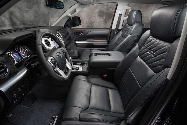 We love the new Toyota Tundra 2015 Interior!