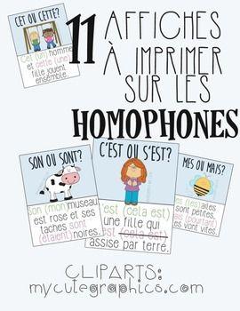 Affiches+colores+de+11+homophones:-ton/t'ont-/a-c'est/s'est-ou/o-cet/cette-mes/mais-son/sont-ce/se-a/sa-mon/m'ont-on/ont