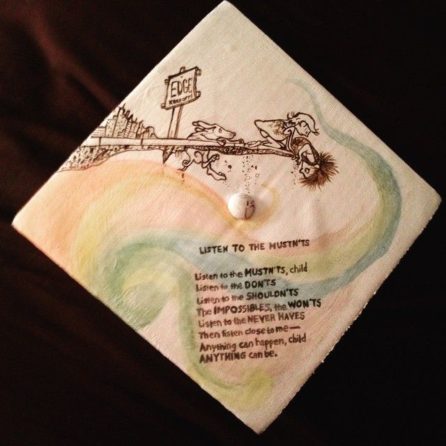 Shel Silverstein Graduation Quotes: 50 Graduation Caps That Made Honors In Creativity