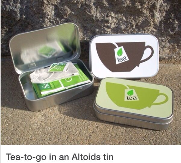 Tea to go