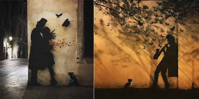 Sokakların Yeni Banksy'si Kenny Random'dan Etkileyici Sokak Sanatı Eserleri Sanatlı Bi Blog 36