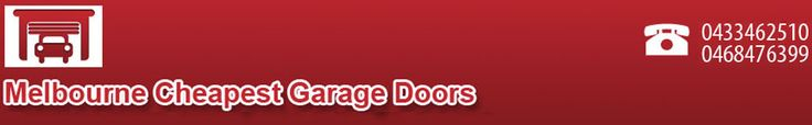 Melbourne Cheapest Garage Doors offers you a wide range of garage door and remote control solutions. We deal in new domestic and commercial roller doors, panel lift doors and titling doors as well as repairs and servicing to all types of doors and remote control units.    http://www.melbournecheapestgaragedoors.com.au/services.html