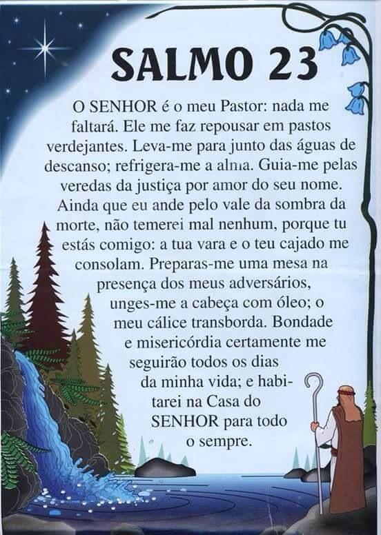 Salmo 23in Portuguese