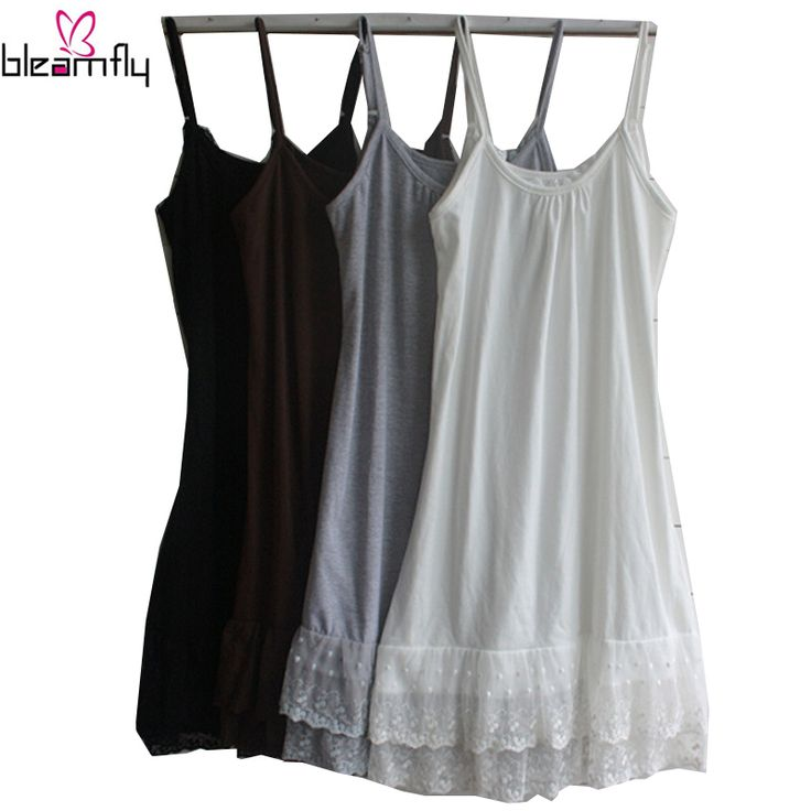 Plus Size Undershirt w/ Lace