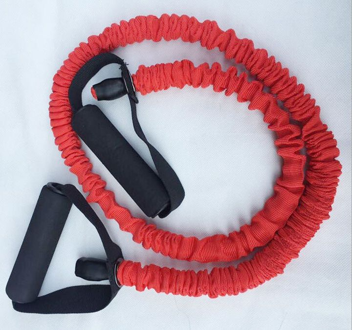 Hot Pull Rope Elastic Rope Fitness Resistance Band Multifunctional YogaTraining Equipment Workout Excercise Random color