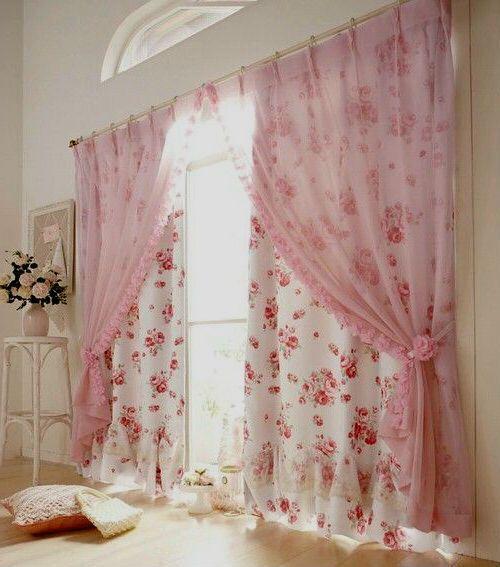 шторы для спальни розовые - Поиск в Google