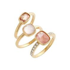 The Ten Best Must-Haves On Sale At Nordstrom // #3 Judith Jack Stone Stacking Rings // Check out the rest of the best here!